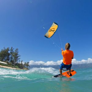 Kiteboarding in the world