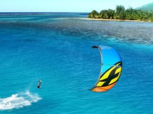 Kite Surfing in the World